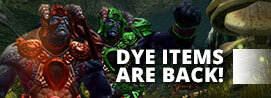 [Update] Dye Items have returned!