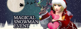 [Event] Christmas Magical Snowman Event