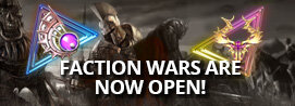 [Update] Faction Wars Are Now Open!