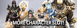 [Update] More Character Slots