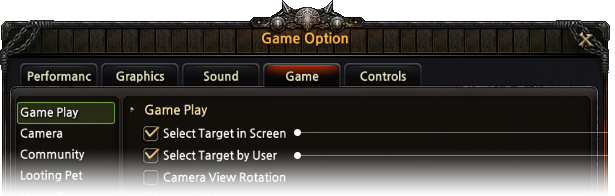 Customize Targeting Options