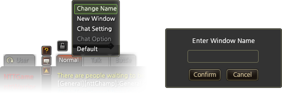 Change Tab Name