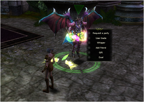 Player Character Option