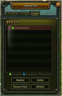 Character Info-Friend