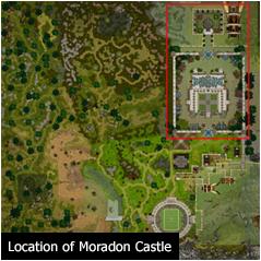 Location of Moradon Castle