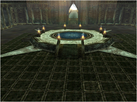 Interrior of Juraid Temple #1
