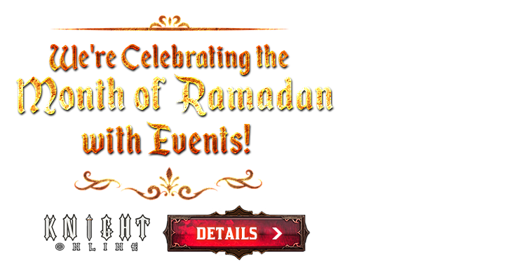 Special Events for Ramadan